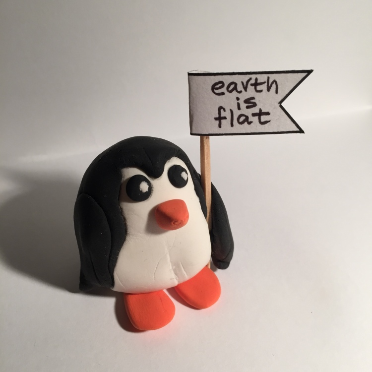 penguin its flat