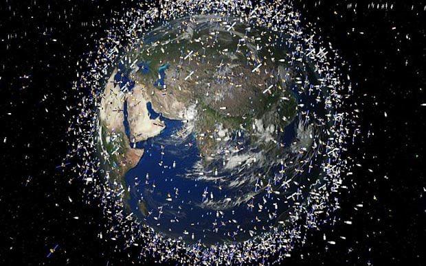 satellites junk