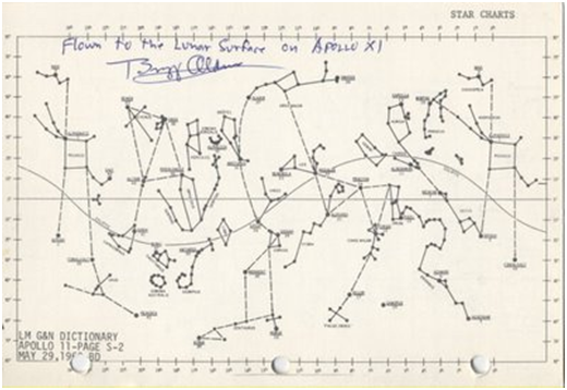 star chart apollo 11 flat earth