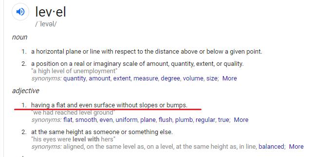 level definition