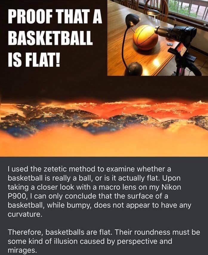 basketball flat meme