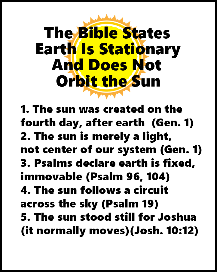 bible states earth stationary 2